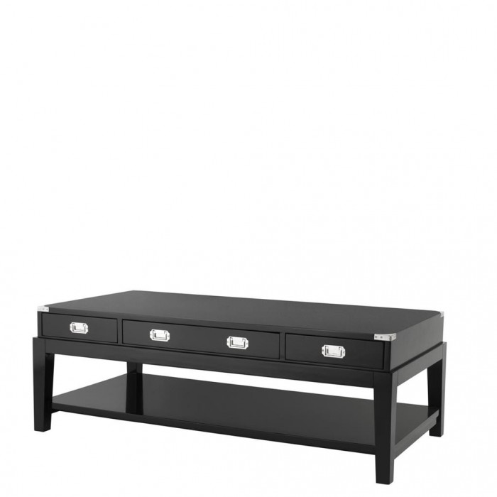 Coffe Table Military Black