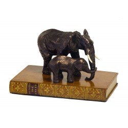 Paper Weight Elephants Book