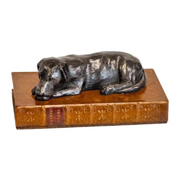 Paper Weight Labrador Book