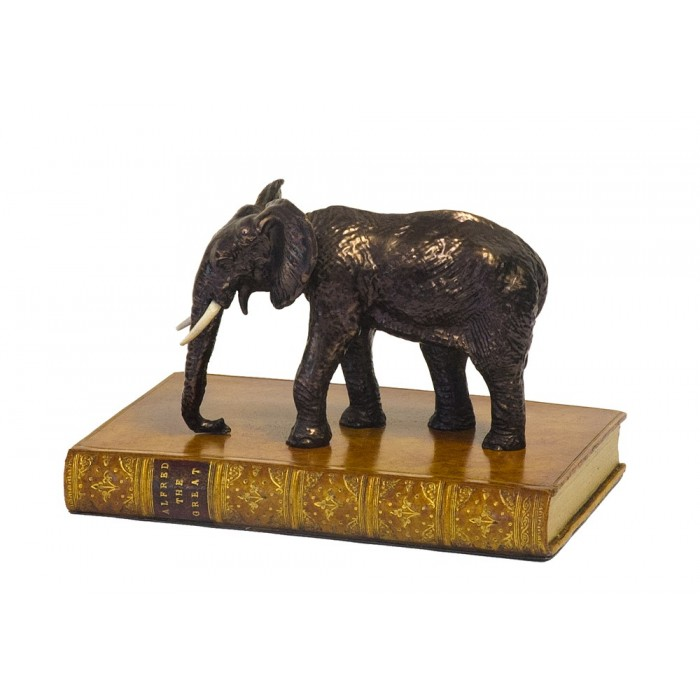 Paper Weight Elephant Book