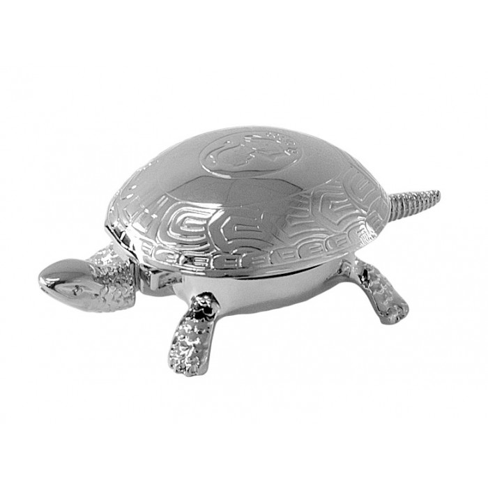 Turtle Desk Bell Chrome