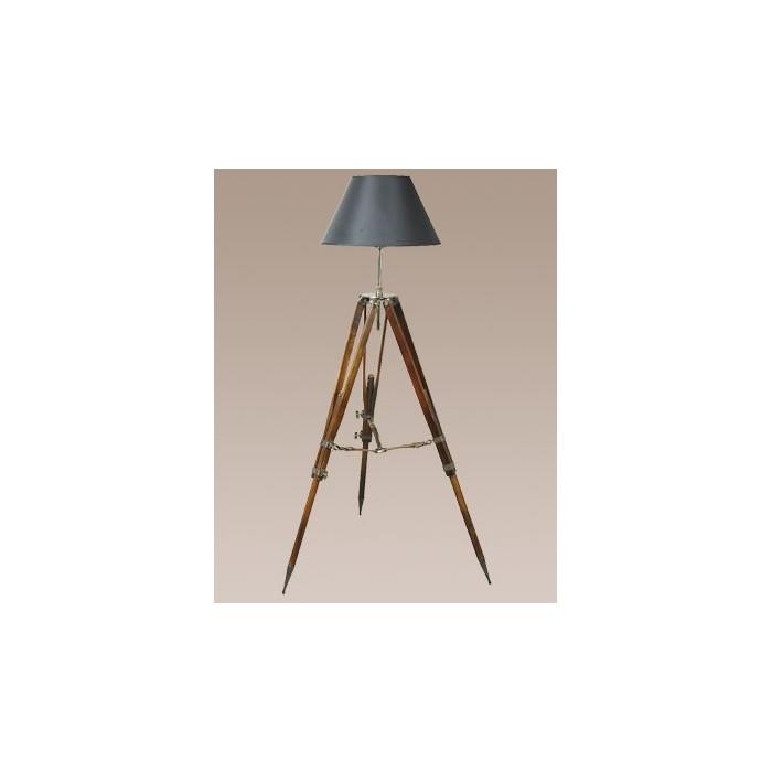 Tripod Lamp Campaign Black
