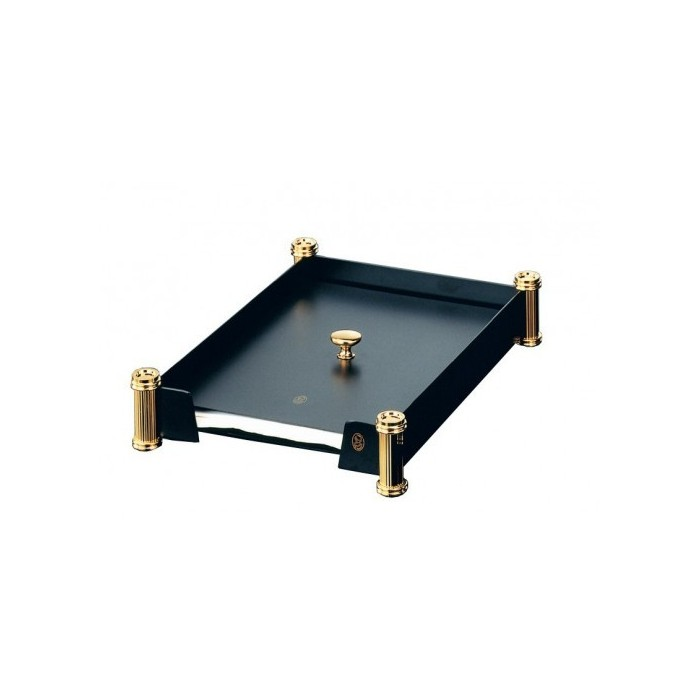 Mail Tray Black Gold