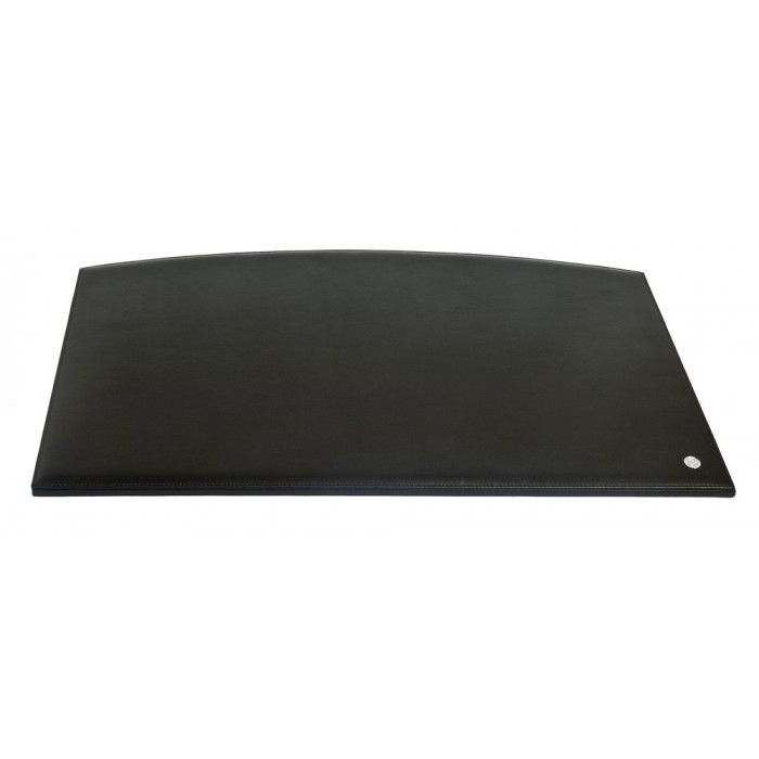 Desk Pad Black Leather