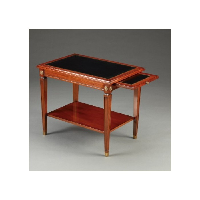 Daniël Side Table Leather Top