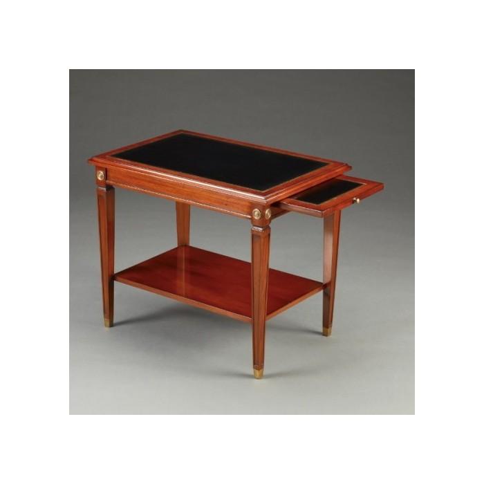 Daniël Side Table Leather Top