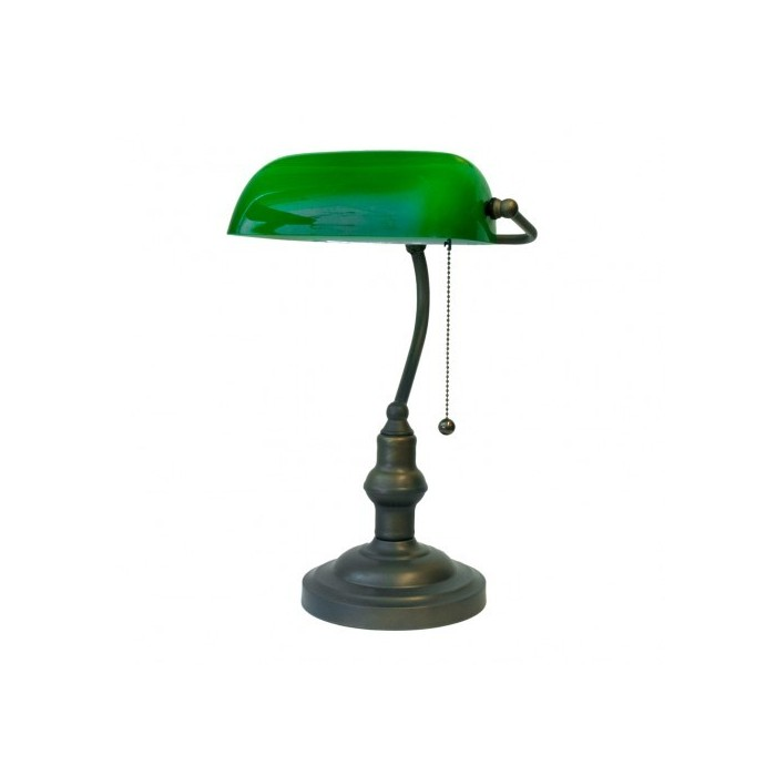 Banker Lamp Green Escudo