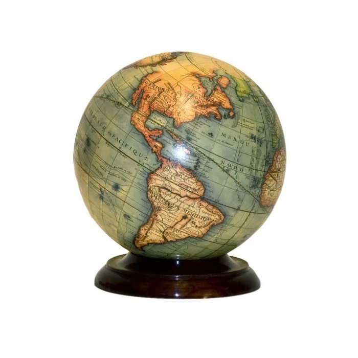 World French Map Globe