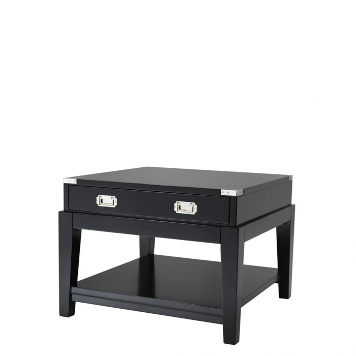 Side Table Military Black