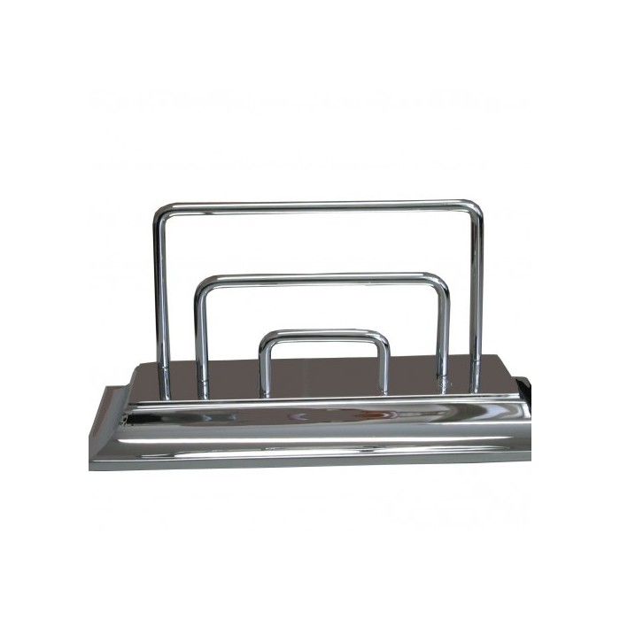 Letter Holder Chrome