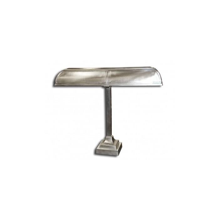 Desk Lamp Banker Trust Chrome