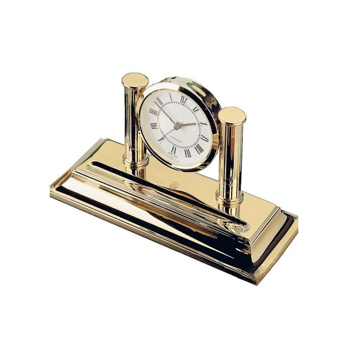 Desk Clock Gold