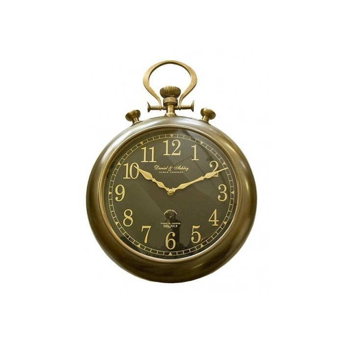 Clock Pocket Watch Brass