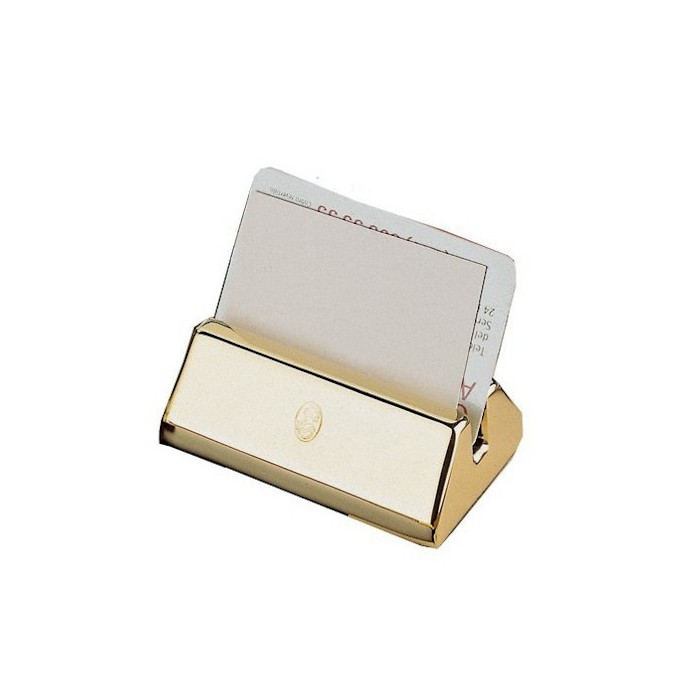 Business Cards Holder Gold