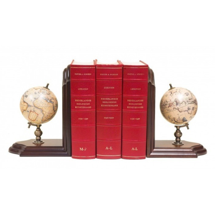 Book Ends Globe
