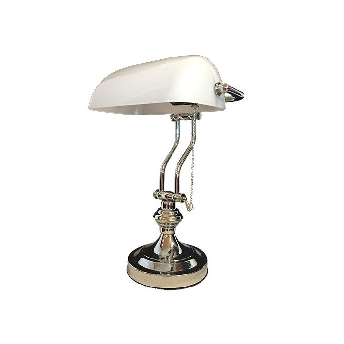 Banker Lamp White Dollar