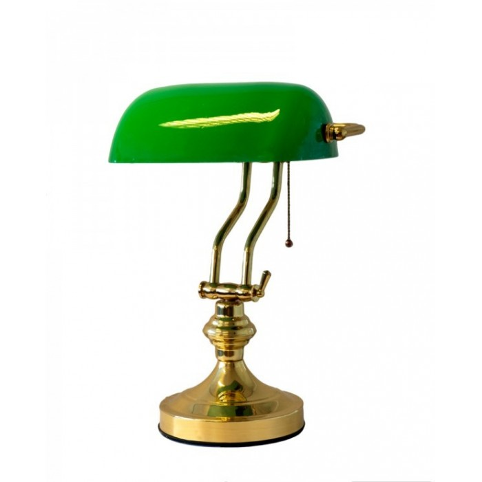 Banker Lamp Green Shilling