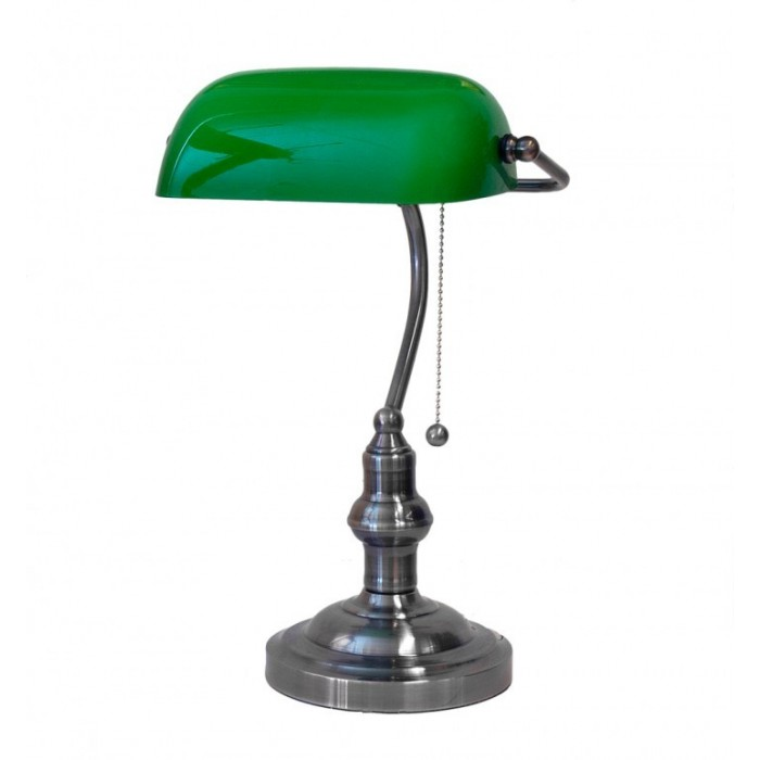 Banker Lamp Green Real