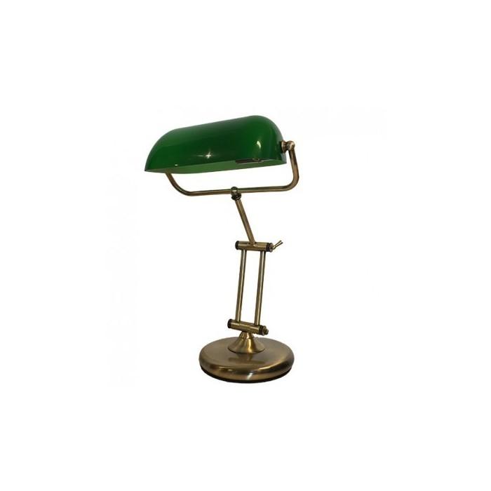 Banker Lamp Green Dime