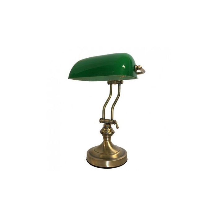 Banker Lamp Green Dollar