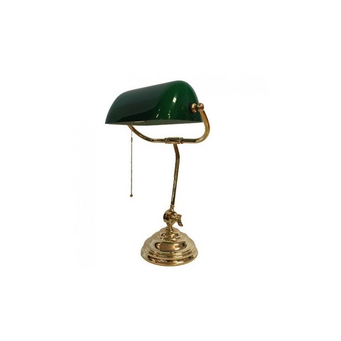 Banker Lamp Green Franc
