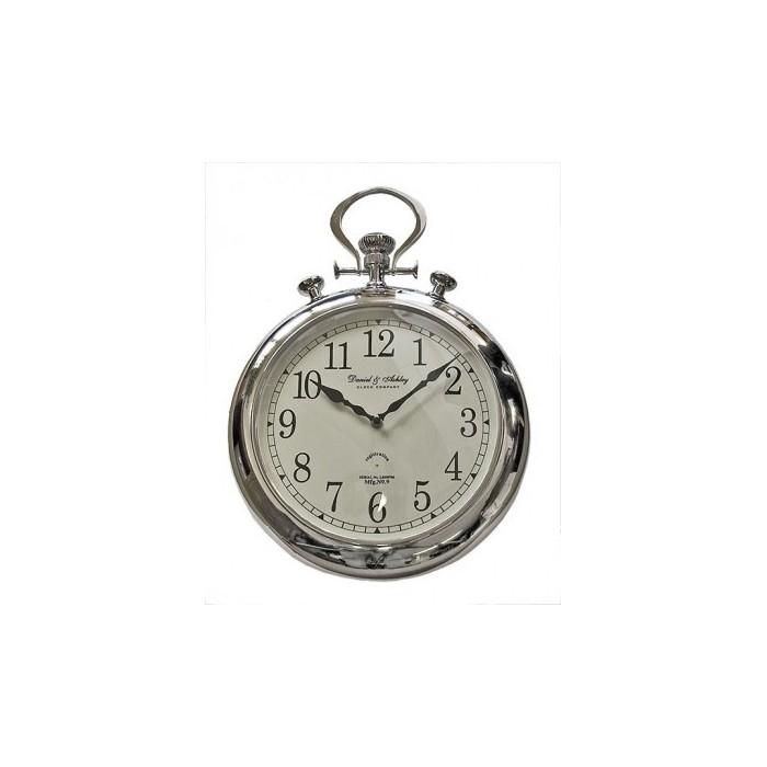 Clock Pocket Watch Chrome