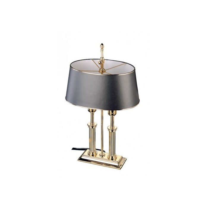 Desk Lamp Empire Gold Black