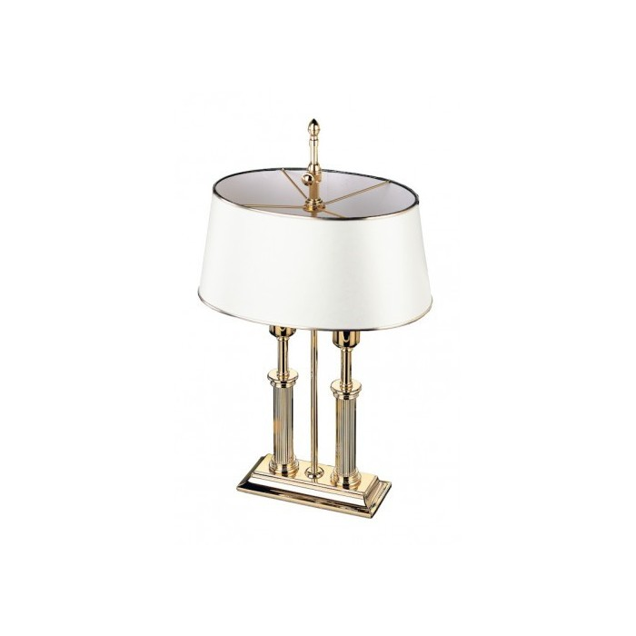 Desk Lamp Empire Gold White