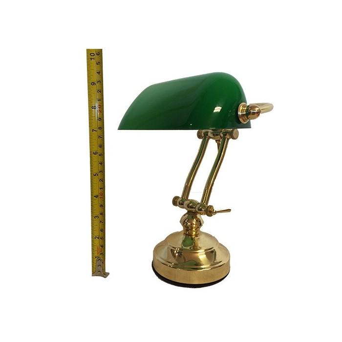 Banker Lamp Green Shilling...