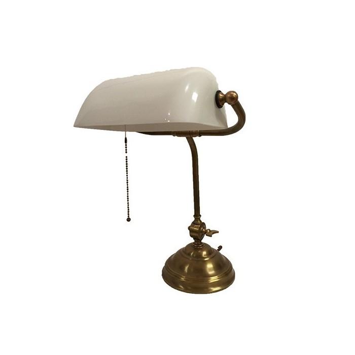 Banker Lamp White Coruna