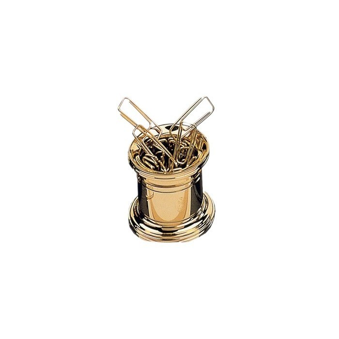 Paper Clip Holder Gold