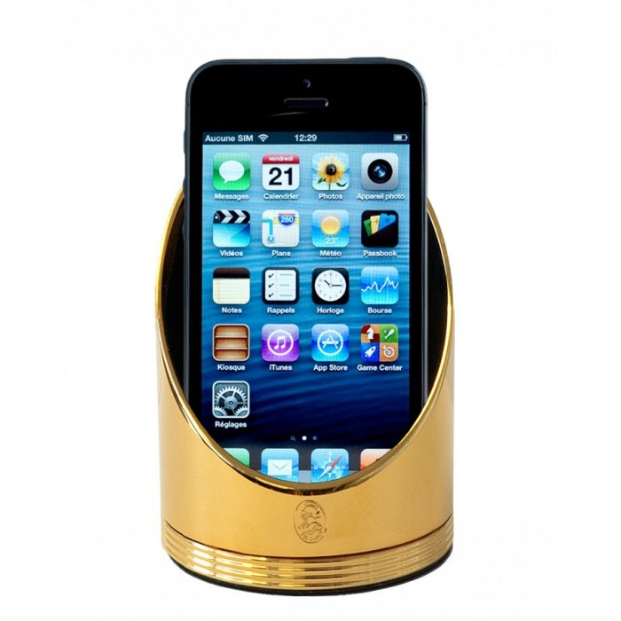 Phone Holder Gold