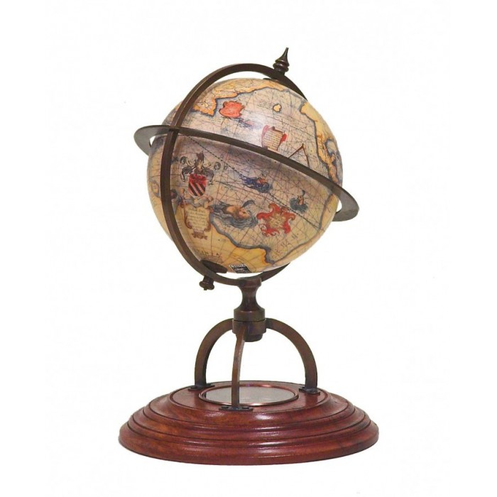 World Compass Standing Globe