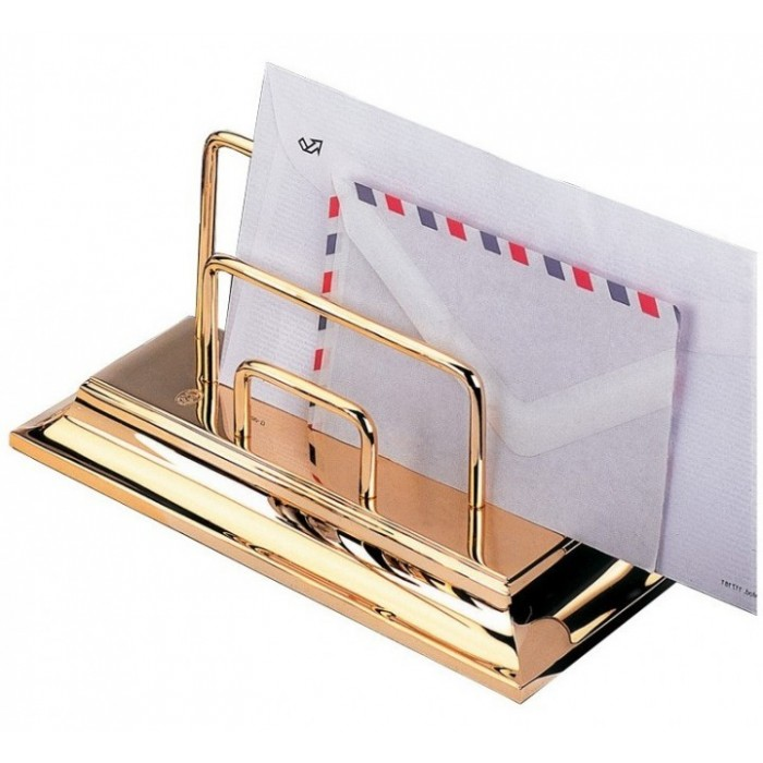 Letter Holder Gold