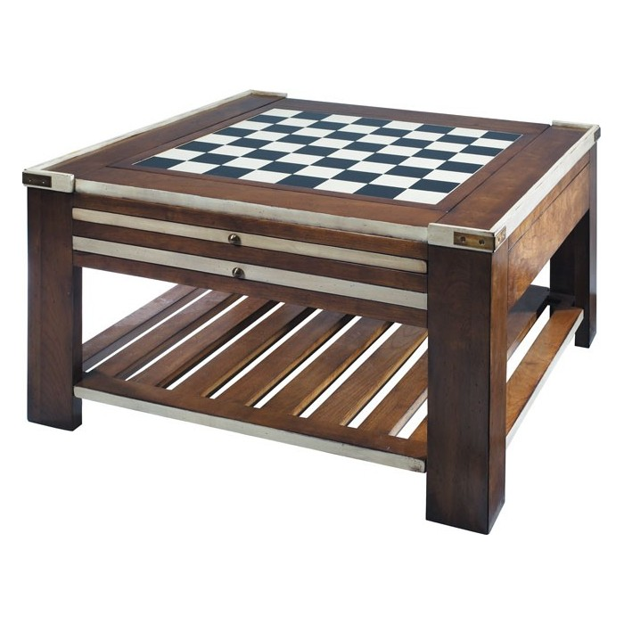 "Houten speeltafel ""Chess"""