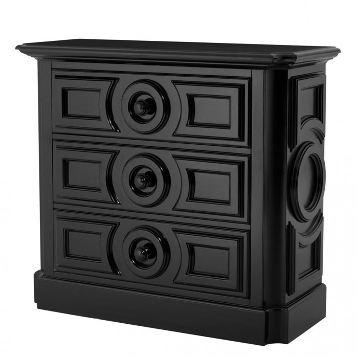 Chest Cambon black finish