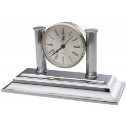 Desk Clock Chrome