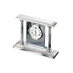 Desk Clock Chrome High