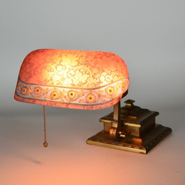 Bankers Lamp Flower