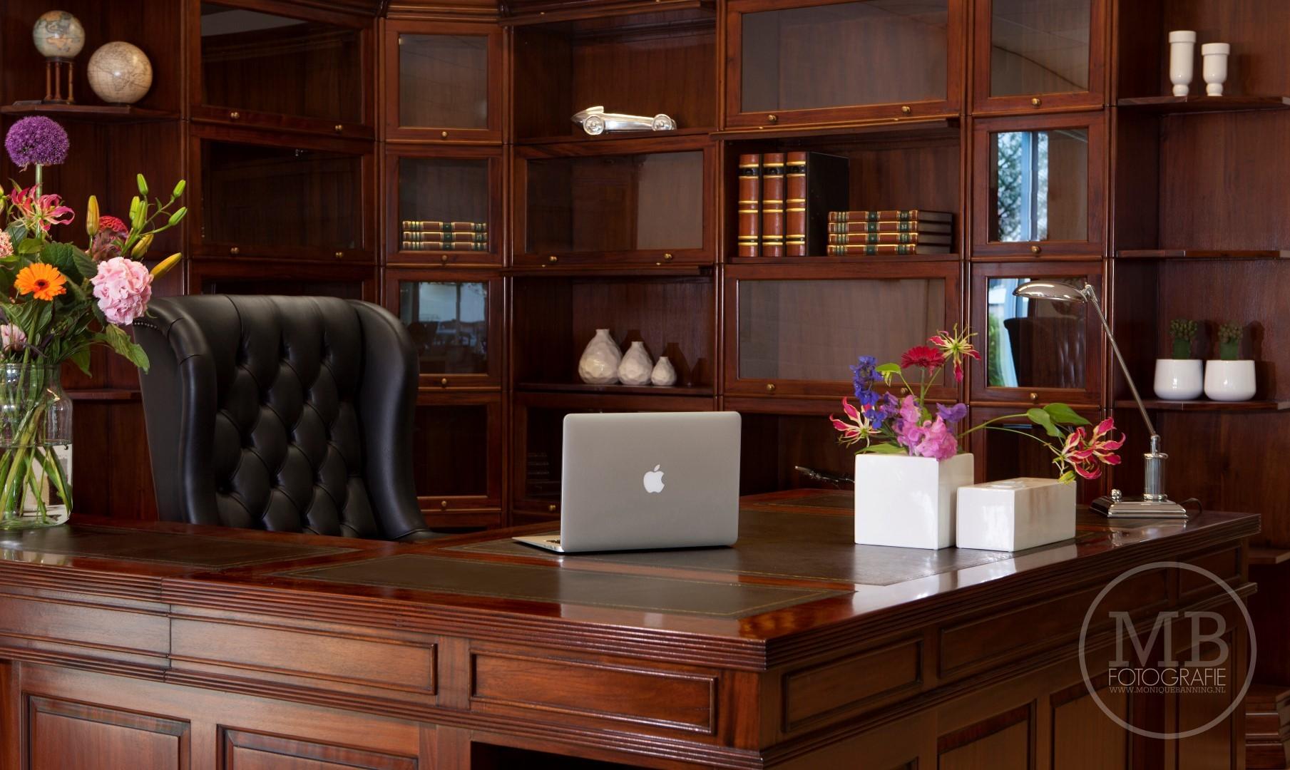Klassiek Engels Interieur : Klassiek kantoor